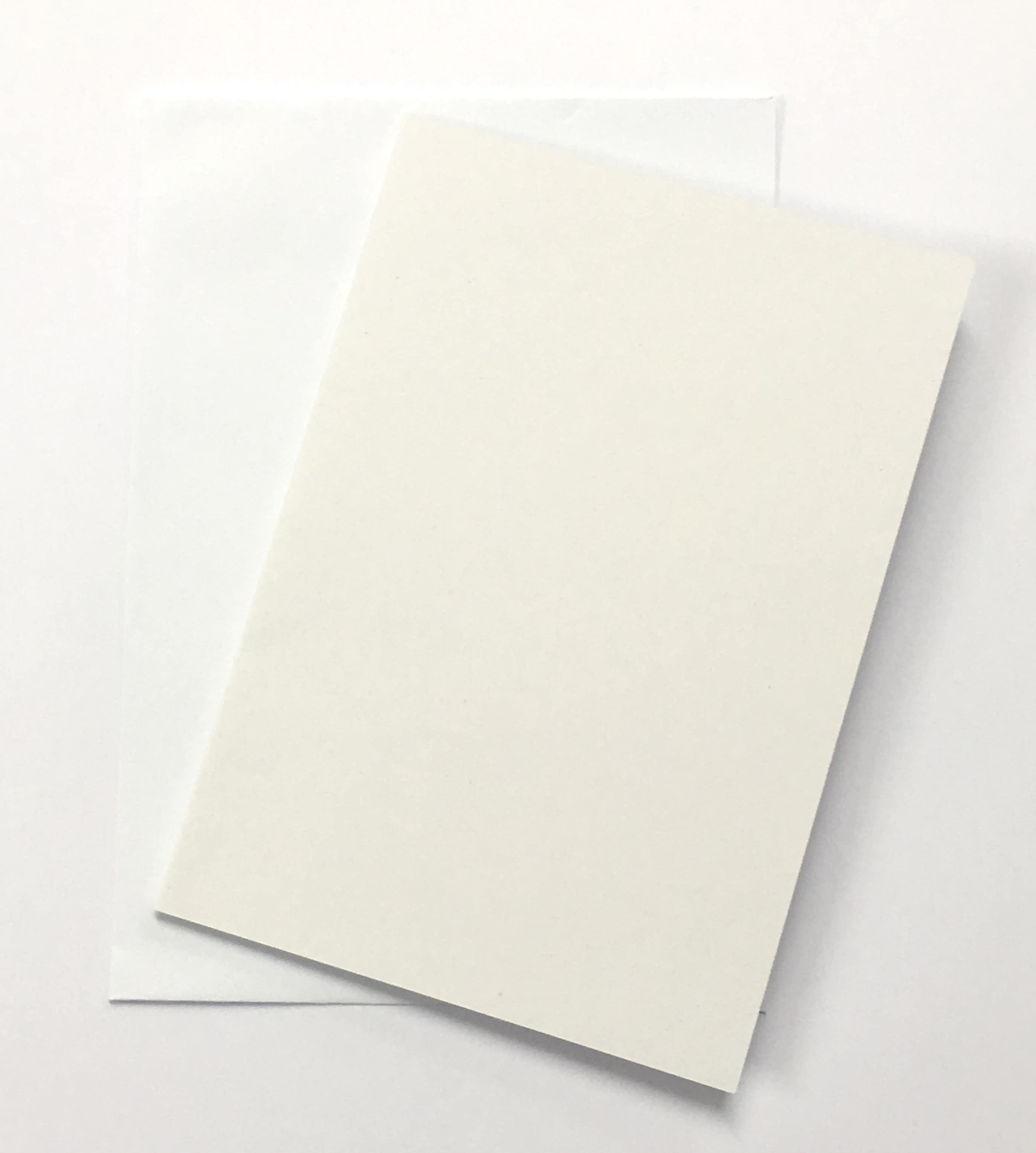 A5 White 300gsm Card And Envelope